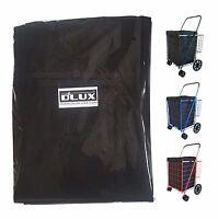 Dlux Liner Bag Only For Folding Shopping Cart Basket (black)
