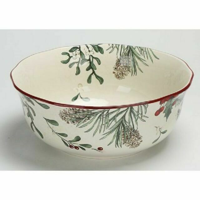 Better Homes And Gardens Heritage Collection Winter Forest Serving Bowl 12 For Sale Online Ebay