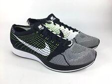 best sneakers 8fe6f 6115e ... item 3 Nike Flyknit Racer Running Black White Oreo Volt Men s Size 13  (526628 ...