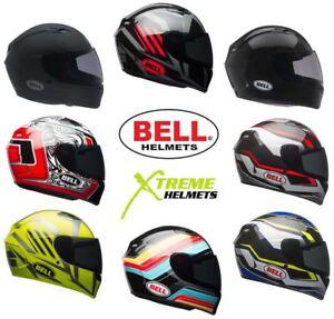 Bell-Qualifier-Helmet-Full-Face-Motorcycle-Clear-Shield-DOT-XS-3XL