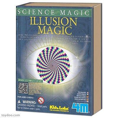 0b2b51b74 ILLUSION MAGIC - SCIENCE MAGIC KIDS EDUCATIONAL MAGIC TRICK KIT KIDZ LABS