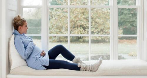 NORDICMAMA DENIM BLUE OVER BUMP MATERNITY LEGGINGS SIZE XXL UK 18 NEW