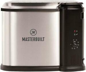 Masterbuilt Electric 3-in-1 Deep Fryer Steamer Cooker w/ Basket, MB20010118