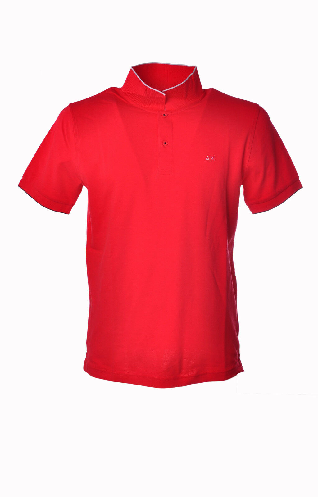 Sun 68 - Topwear-Polo - Man - Red - 3207910H184455