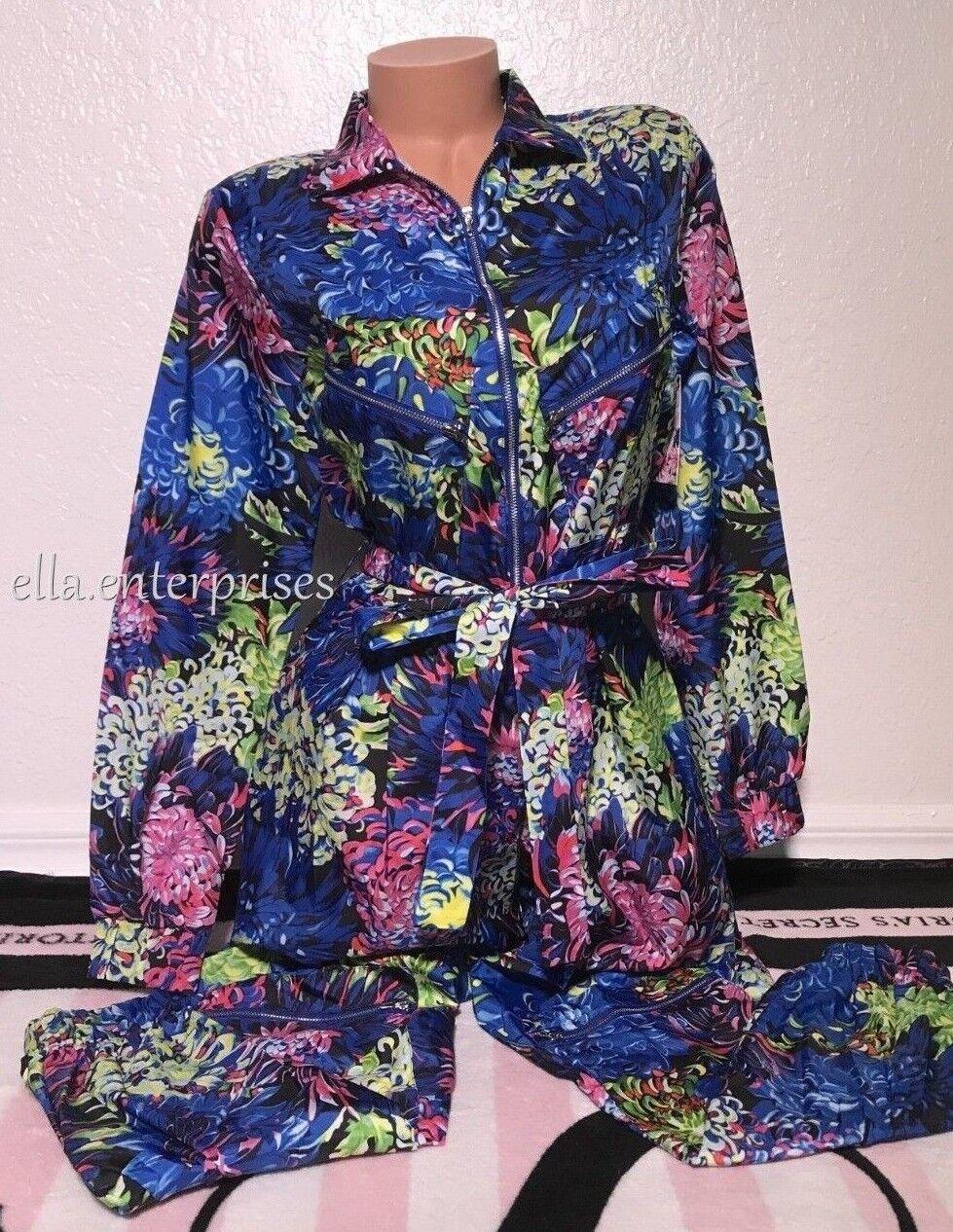 Victoria's Secret X Mary Katrantzou Jumpsuit colorful Floral One Piece - XS