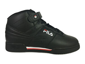 e5e03339a94e Image is loading Fila-F-13-Mid-Top-Sneakers-in-Black