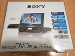 Sony-DVP-FX810-Portable-DVD-Player-8-034-Brand-New
