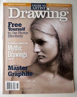 American Artist Drawing Magazine Fall 2009 Vol 6 22 Graphite Idealize Figure 74851083239 Ebay