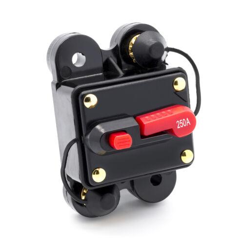 100-300 A Automatische Sicherung Automat Automatik Schalter Auto KFZ 12V 24V
