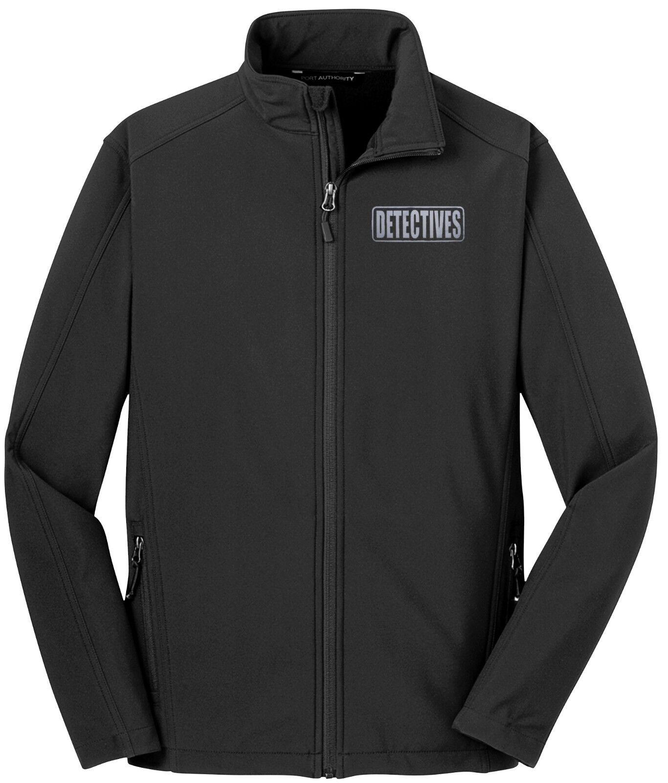 Detective jacket, High Quality, REFLECTIVE LOGO, Investigator jacket