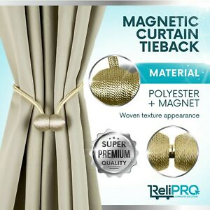 ReliPRO-Original-Magnetic-Curtain-TieBack-in-16-Col-Package-contains-2-tiebacks