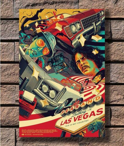 Fear and Loathing In Las Vegas Classic Movie T-905 Art Poster 24x36 27x40