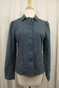 Marc Jacobs Womens Blazer Size 8 Jacket Coat Work Career Business Blue