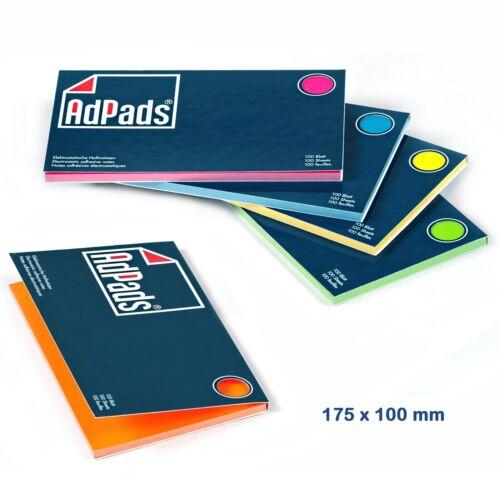 Box AdPads® elektrostatisch selbstklebend Moderationskarten175x100mm 500 Bl