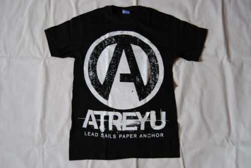 ATREYU A TEAM LEAD SAILS PAPER ANCHOR T SHIRT BNWT OFFICIAL THE CURSE SUICIDE