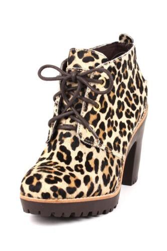 Sider Dames Princeton veter Leopard Sperry Top enkellaarsje Sexy in das Pony On0NXP8wkZ