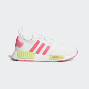 Details about Adidas Women's Originals NMD_R1 Solar Yellow/Pink/ White EE4401