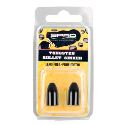 Spro Angeln Tungsten Bullet Sinker 10,5g Bullet Weight für Texas Carolina Rig