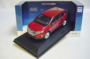 1-43-Norev-2015-Ford-Edge-Rojo-Rubi-de-cruce-Nueva-Coleccion-distribuidor-promo