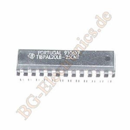 R TM CIRC TI DIP-24 1pcs PAL 1 x TIBPAL20L8-25CNT HIGH-PERFORMANCE IMPACT-X