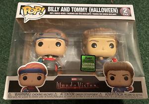 Funko POP Marvel WandaVision Billy and Tommy Halloween 2