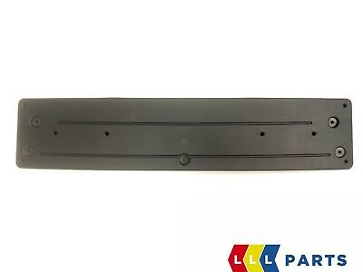 BMW 3 SERIES F30 F31 NEW GENUINE FRONT BUMPER NUMBER PLATE HOLDER 8054157