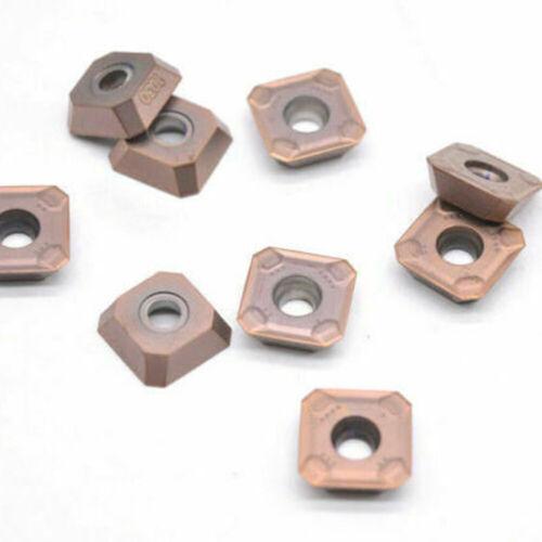 10PCS R245-12T3M-PM 1030 R245-12 T3M-PM Plane milling insert for steel parts