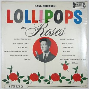 PAUL-PETERSEN-Lollipops-And-Roses-LP-1962-POP-ROCK-SEALED-UNPLAYED