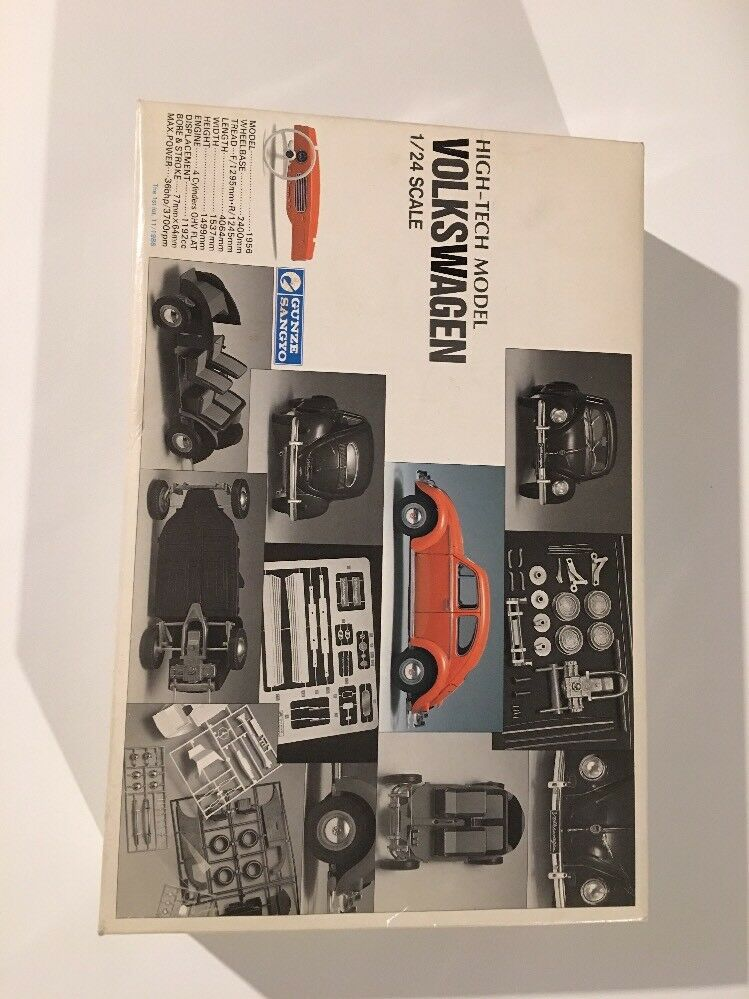 High tech model volkswagen 1 24 scale model