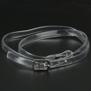 Detacheable-Transparent-Shoelace-1Pair-Women-High-Heel-Shoes-Elasticated-Strap