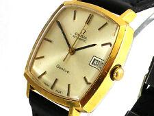Mens Vintage Omega Geneve Automatic Wristwatch w/Date, Big Size