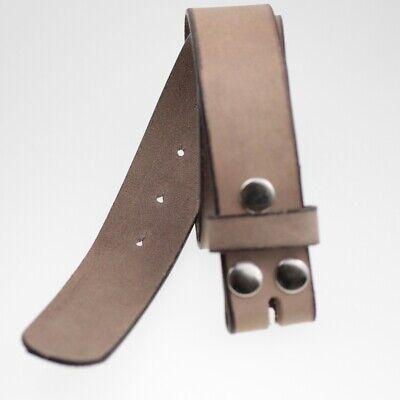 Vorsichtig Ledergürtel Wechselgürtel Für Buckle Aus Büffel Leder Mit Druckknöpfen Lg10 Modern Und Elegant In Mode