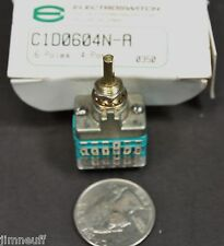 Electroswitch C1d0604n A Rotary Switch 6 Poles 2 4 Positions 28 Vdc125 Vac