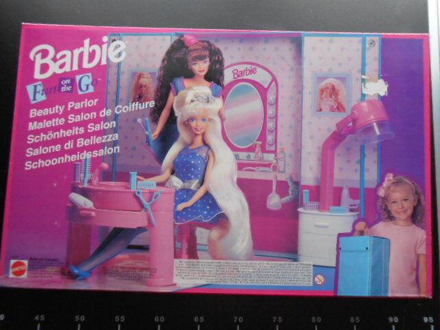 Mattel Dream House Beauty Parlor Salon Fun Go Super Super Super Star Arco Barbie 67421 6e2adf