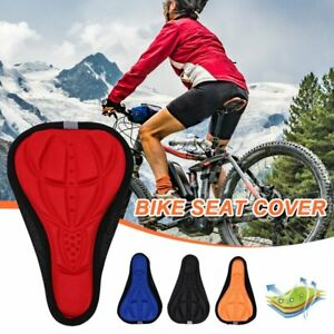 Outdoor Cycling Soft Saddle Pad Comfort Cushion Seat Cover For MTB Bike Bicycle