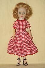 "Pretty 10"" Vintage American Character Toni Doll"