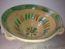 VASO CONTENITORE IN CERAMICA DI BURGIO DIPINTO A MANO old vase BG31