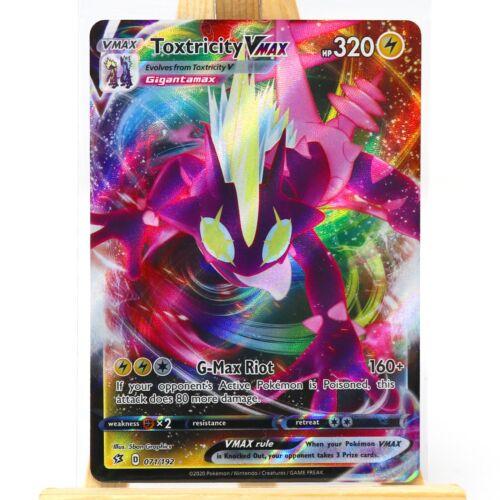 Pokemon TCG Toxtricity VMax 071//192 Sword /& Shield Rebel Clash