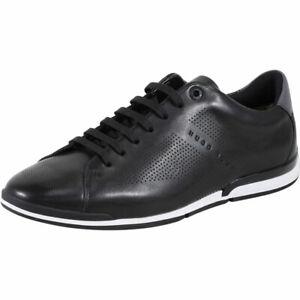 Hugo-Boss-Men-039-s-Saturn-Memory-Foam-Trainers-Sneakers-Shoes
