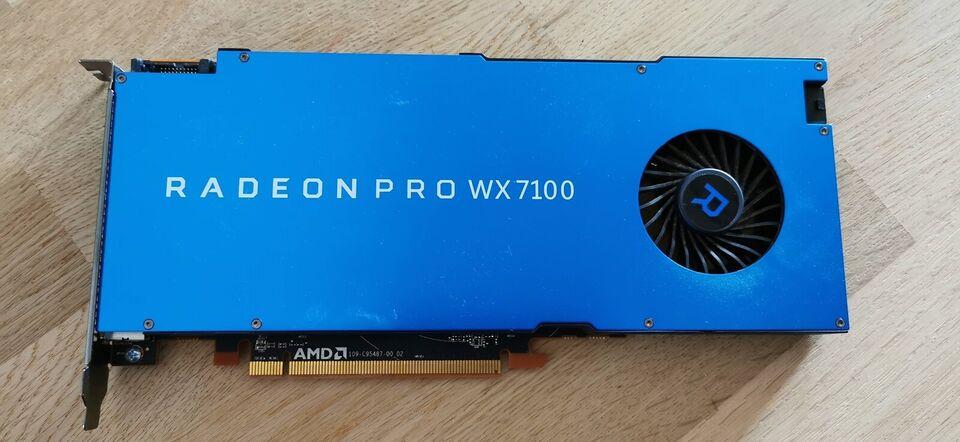 Radeon PRO WX 7100 AMD, 8 GB RAM, Perfekt