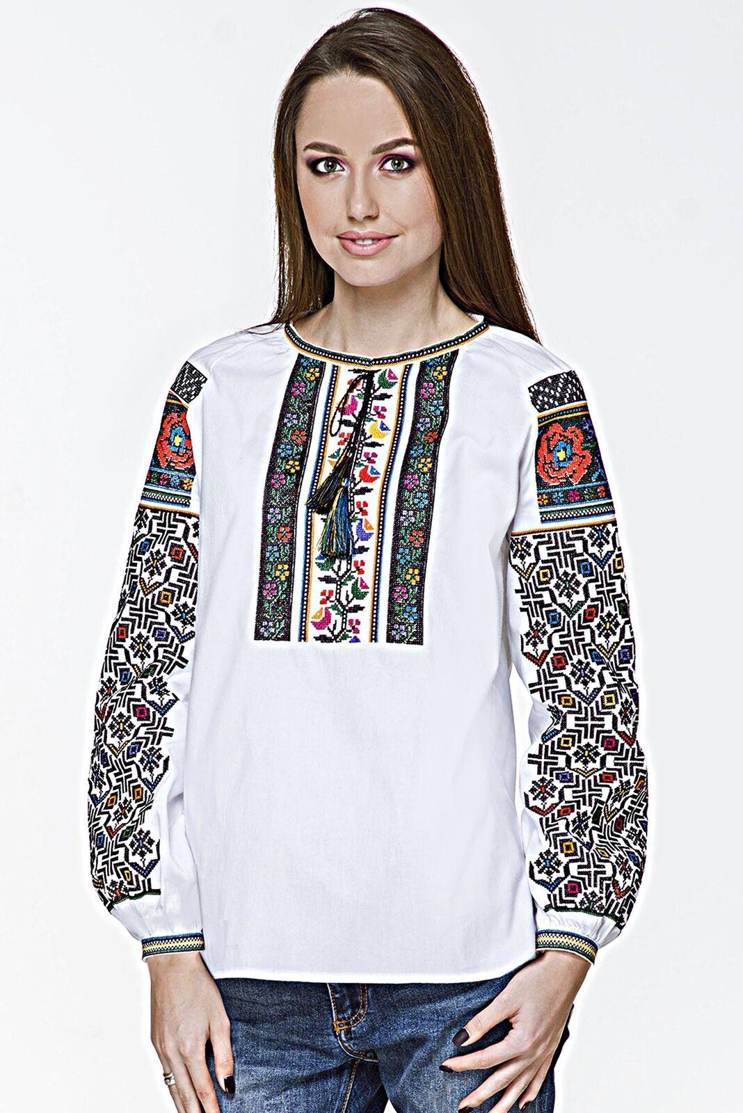 Ukrainian Woherren Vyshyvanka  Halyna