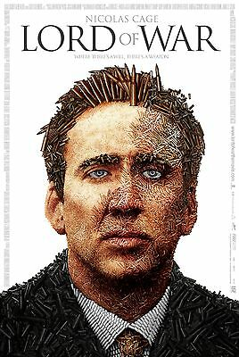 Stickers Autocollant Trans Poster A4 Affiche Movie Film Lord Of War.