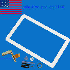 """Touch Screen Digitizer For 10.1"""" iRulu AX105  alldaymall Android  tablet 50 pin"""