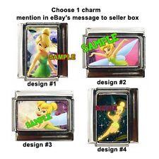 Tinkerbell Disney Custom Italian Charm Peter Pan choose