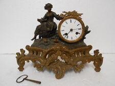 Orologio parigina con statua, piccole dimensioni.