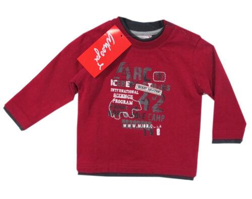 Whoopi Sweatshirt Pullover Sweat Rot Baumwolle Jungen Gr 74,86