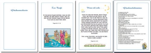 Festzeitung Taufe Taufzeitung mit Bild # Schleifen # Geschenk Paten Taufbuch