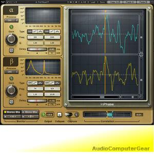 Waves-INPHASE-Phase-Correction-Audio-Software-Plug-in-NEW