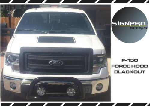 Ford F150 Force Hood Solid Color Decals Vinyl Free shipping Free Shipping