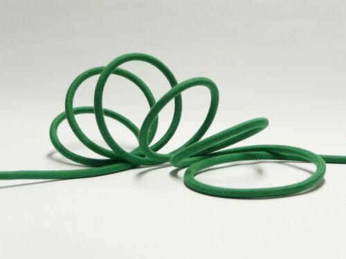 Lampenkabel 100/% Baumwolle ab €1,90//m Premium Textilkabel 3-adrig Stoffkabel